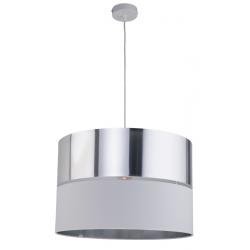 TK LIGHTING LAMPA WISZĄCA HILTON SILVER 4178