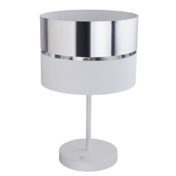 TK LIGHTING LAMPKA NOCNA HILTON SILVER 5472