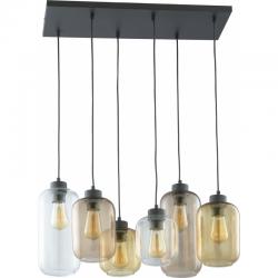 TK LIGHTING LAMPA WISZĄCA MARCO BROWN 3176