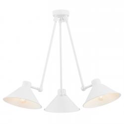 ALTEA 1451 POTRÓJNA LAMPA WISZĄCA STALOWA ARGON
