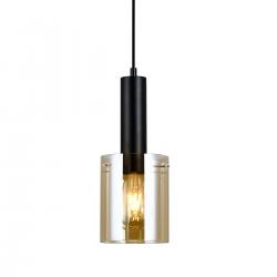 SARDO  PND-5581-1-BK+AMB  LAMPA WISZĄCA ITALUX