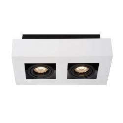 CASEMIRO  IT8001S2-WH/BK  LAMPA SUFITOWA/PLAFON ITALUX