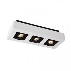 CASEMIRO  IT8001S3-WH/BK  LAMPA SUFITOWA/PLAFON ITALUX