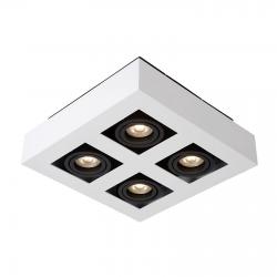 CASEMIRO  IT8001S4-WH/BK  LAMPA SUFITOWA/PLAFON ITALUX