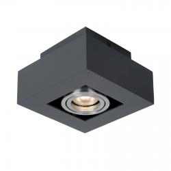 CASEMIRO  IT8002S1-BK/AL  LAMPA SUFITOWA/PLAFON ITALUX
