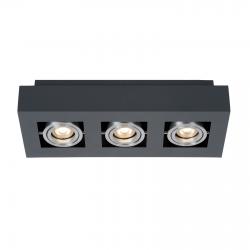CASEMIRO  IT8002S3-BK/AL  LAMPA SUFITOWA/PLAFON ITALUX