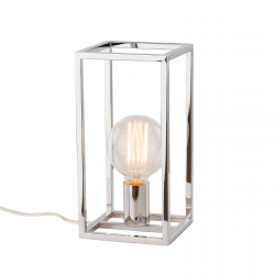 SIGALO  MT-BR4366-T1 CH  LAMPA STOŁOWA  ITALUX