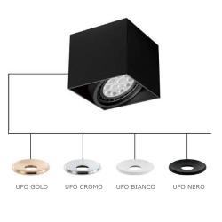 CARDI I NERO/UFO BIANCO LAMPA NATYNKOWA ORLICKI DESIGN