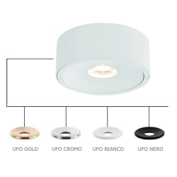 NEO BIANCO SLIM LED/UFO NERO LAMPA NATYNKOWA ORLICKI DESIGN