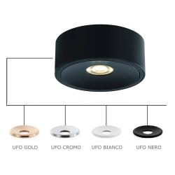 NEO NERO SLIM LED/UFO GOLD LAMPA NATYNKOWA ORLICKI DESIGN