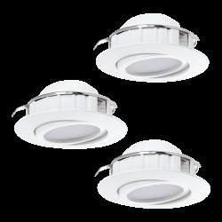 PINEDA 95851 LAMPA WPUSZCZANA zestaw LED EGLO