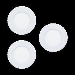 FUEVA 5 LAMPA WPUSZCZANA 99135 LED 3000K EGLO zestaw