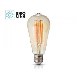 Żarówka LED FST64 7W E27 barwa 2700k KOBI KAFST64E277C