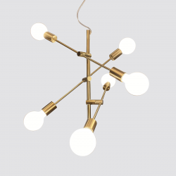 SERPO  PND-0188-6-BRS  LAMPA WISZĄCA ITALUX
