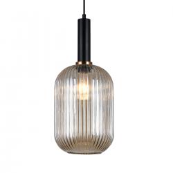 ANTIOLA  PND-5588-1L-BK+AMB  LAMPA WISZĄCA ITALUX