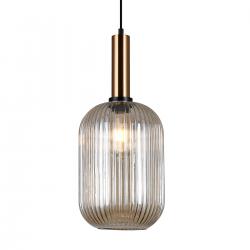 ANTIOLA  PND-5588-1L-BRO+AMB  LAMPA WISZĄCA ITALUX
