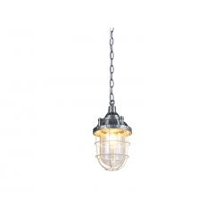 AZ2375 Azzardo HOWE lampa wisząca zwis 1x60W E27 srebrny...