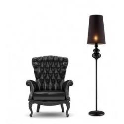 BAROCO LAMPA PODŁOGOWA AZZARDO AL7121-1 (BLACK)