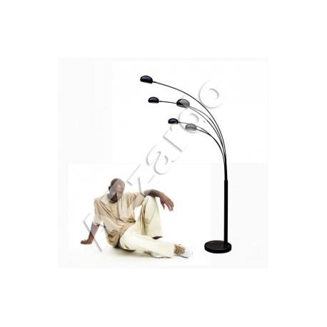 PALP SHINY BLACK LAMPA PODŁOGOWA AZZARDO TS5805 (SHINY BLACK)