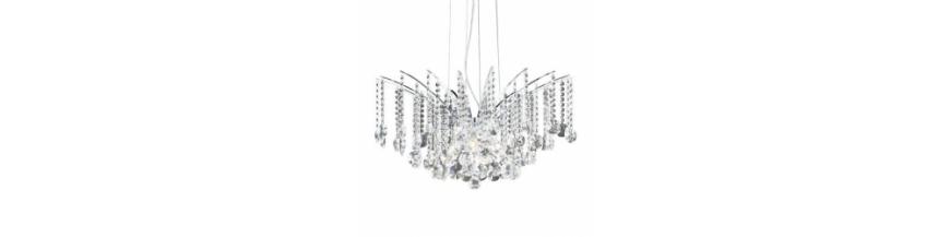 Lampy kryształowe / szklane wiszące