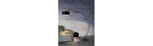 Lampy podłogowe abażurowe