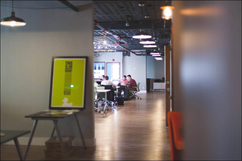 Open office oświetlenie